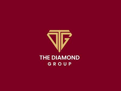 Dtg diamond minimalist logo mark graphic design colorful vector ui logo branding design n o p q r s t u v w x y z illustration modern a b c d e f g h i j k l m