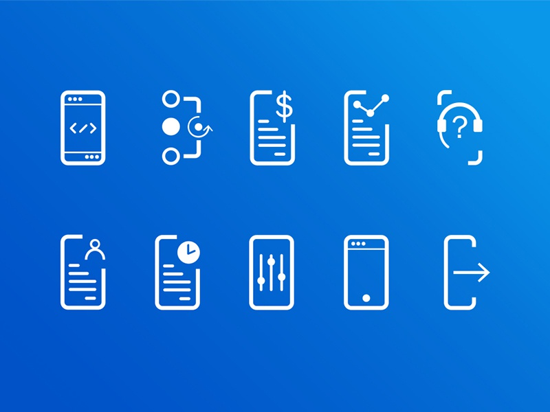 Dashboard | Administration Icon Pack icon set icon free icons sim dashboard ui administration ui telecommunications dashboard administration icon collection icon kit icons