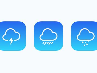 Weather Icon ios7
