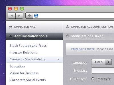 Admin app settings admin app settings nav edition