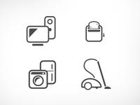 Electronics Store icons
