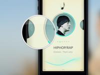 Music App for testing of speakers