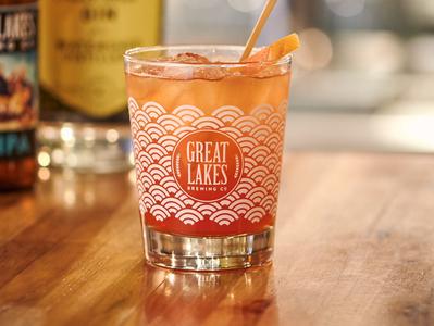 GLBC tiki cocktail glass design patterndesign pattern drink beer minimal color vector illustration cocktail tiki