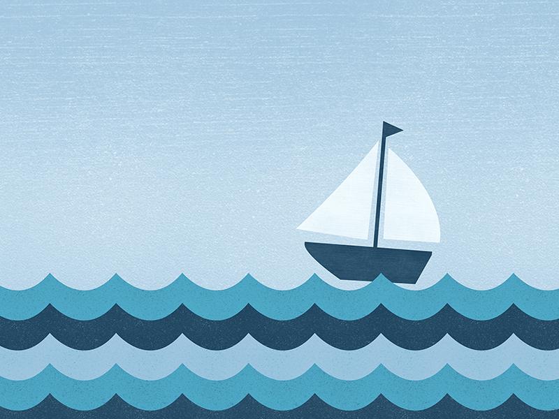 Ocean waves 1440x900 wallpaper