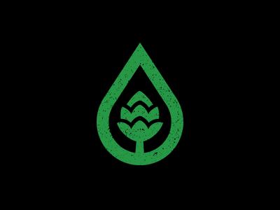 GLBC Logo Concept_update community nature hop green water eco charity beer