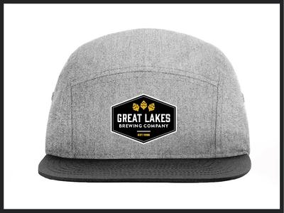 GLBC Rejected Hat Design design minimal patch typography rejected apparel hat branding beer glbc