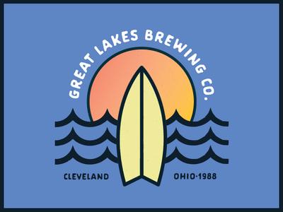 GLBC Rejected Chillwave Shirt Design typography surf shop surf shirt illustration glbc beer apparel