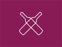 Top Wines bottles wine identity logo branding