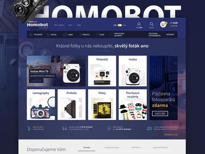 Redesign Instant Eshop Homobot