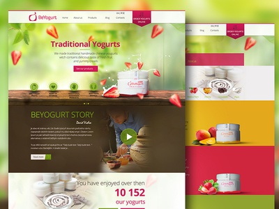 Beyogurt website