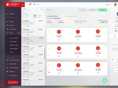 UI of price propos in CRM system