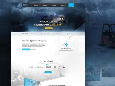 Profiwelding website