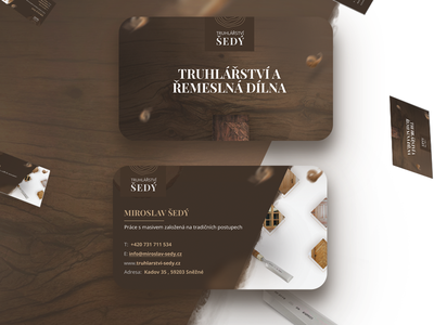Business card for Joinery