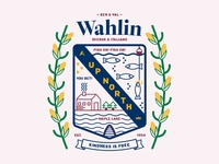 The Wahlin Family Crest