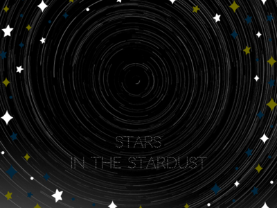 We are all spinning stardust.