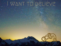 I want to believe! #aliens