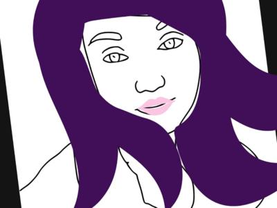 Sketchie selfie (: