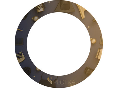 Rotating circle design circle rotate rotating rotation design