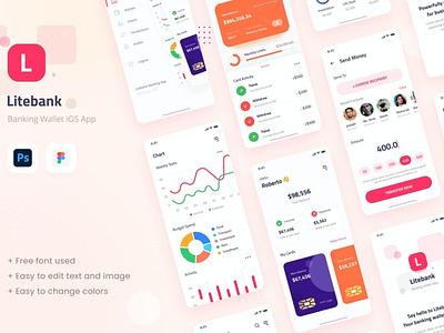Banking Wallet iOS App Design UI bank app bank banking website app design app ux ui uxui uxdesign ux design ux user interface designer user interface ui user interface design user interface ui ux uiux uidesign ui design ui