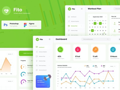 Fitness Website Admin Dashboard UI Template fit fitness app fitness website app design app ux ui uxui uxdesign ux design ux user interface designer user interface ui user interface design user interface ui ux uiux uidesign ui design ui