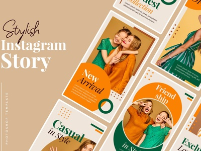 Stylish Instagram Templates instagram instagram template instagram stories instagram posts template social media social media template branding design instagram post instagram banner instagram templates instagram story template instagram post template stories story templates advertising color fashion