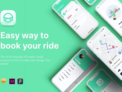 ABER - Taxi Booking App UI Kit 3d animation taxi apps taxi website driving uber app uber taxi ui taxi app taxi vector branding logo illustration design ui design ux design ux ui app