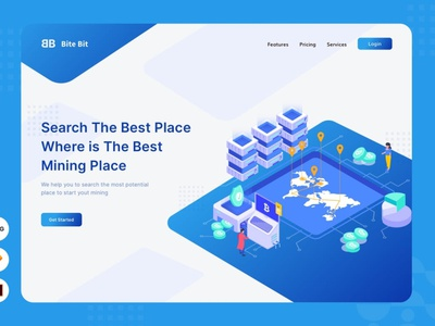 Mapping Strategy - Website Header - Illustration pages page landing illustrations banners banner conceptual concept 3d animation vector branding logo design illustration ui design ux design ux ui app