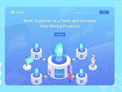 Working Together - Website Header - Illustration illustrations conceptual concept web development web design website motion graphics graphic design 3d animation vector branding logo design illustration ui design ux design ux ui app