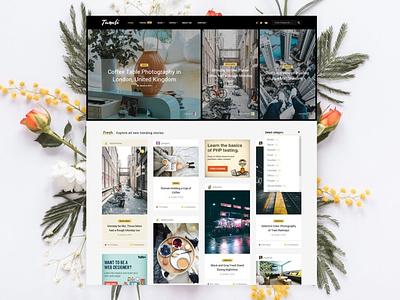 Tumli - Personal Masonry WordPress Theme ui design ux design app templates wordpress themes wordpress theme wordpress photography web development web design website template themes theme blogger themes blogger theme blog themes blog theme blogger blog