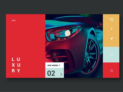 Luxury Cars - Landing Page donation clean full portfolio shop onepage agency purpose multipurpose web website design ui design ux ux design ui app html landing landingpage
