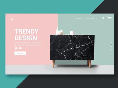 Online Store - Landing Page clean full portfolio multipurpose purpose one page agency branding web html illustration website design ui design ux ux design ui app landing page landing
