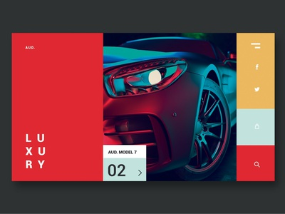 Luxury Cars - Landing Page events portfolio shop onepage purpose multipurpose web html landing page landing illustration website design ui design ux ux design ui app cars luxury