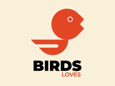 Birds Loves birds flying bird vector birds logo birds bird logo mark logotype logo designer logo design branding logodesign logo design
