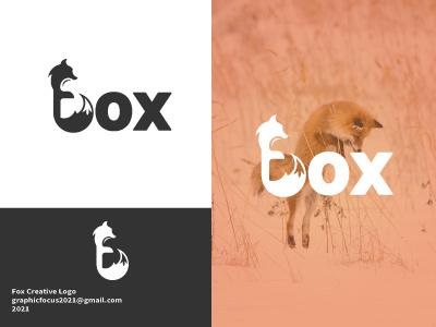 Fox logo design designinspiration identity logokeren customlogo vector illustration logotype logo mark logo designer design logo design branding monogram logodesign branding logo