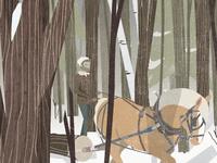 woodsman thesis illustration