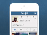 Instagram Flat Redesign