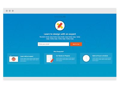 Ad Landing Page landing page ad design