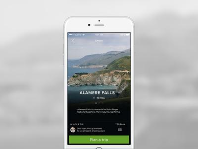 Get outside ui design app secret outdoors