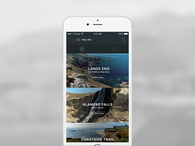 Get outside pt. 2 product ux design ui ios