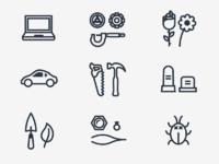 Progress icons