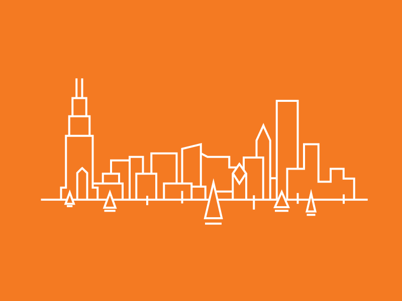 Chicago - Careers Cities careers 2.0 stack exchange stack overflow chicago illustration waterfront