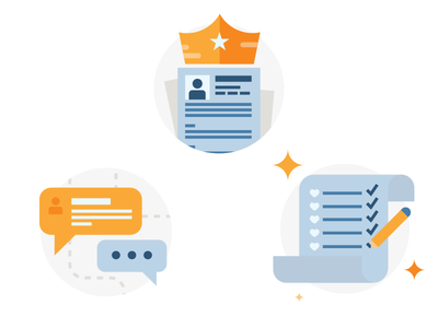 Stack Overflow CV icons job wish list crown icons resume cv stack overflow