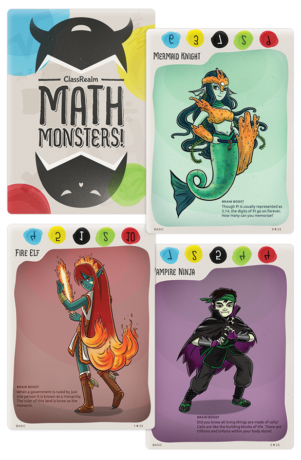 Math monsters expanded