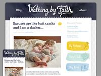 Walking by Faith blog