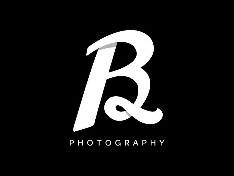 Bram Lettermark lettering logo photography custom script font
