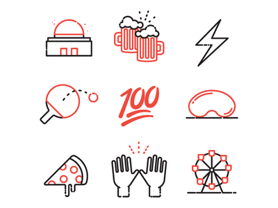 Chicago SPiN Icons