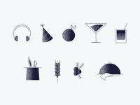 Hospitality Icons