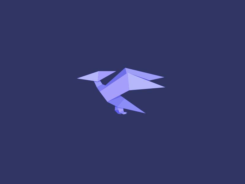 Origami: Dinosaur Pterodactyl - YouTube | Origami, Dinosaur, Paper ... | 600x800
