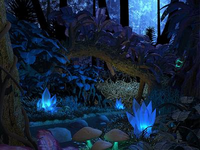Fantasy Forest health unity fantasy forest game 3d boston childrens hospital
