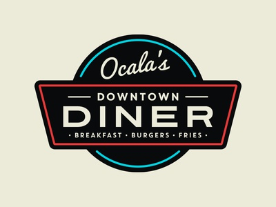 Downtown Diner Logo